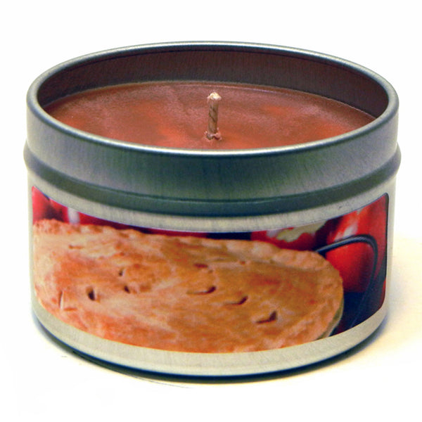 Homemade Apple Pie, 4oz Soy Candle Tin - Candeo Candle - 2