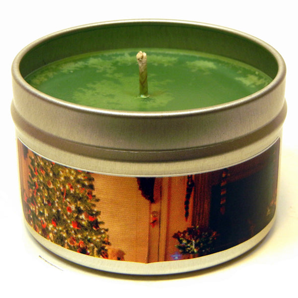 O' Christmas Tree, 4oz Soy Candle Tin - Candeo Candle - 2