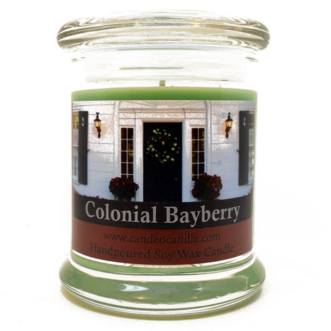 Colonial Bayberry, 9oz Soy Candle Jar