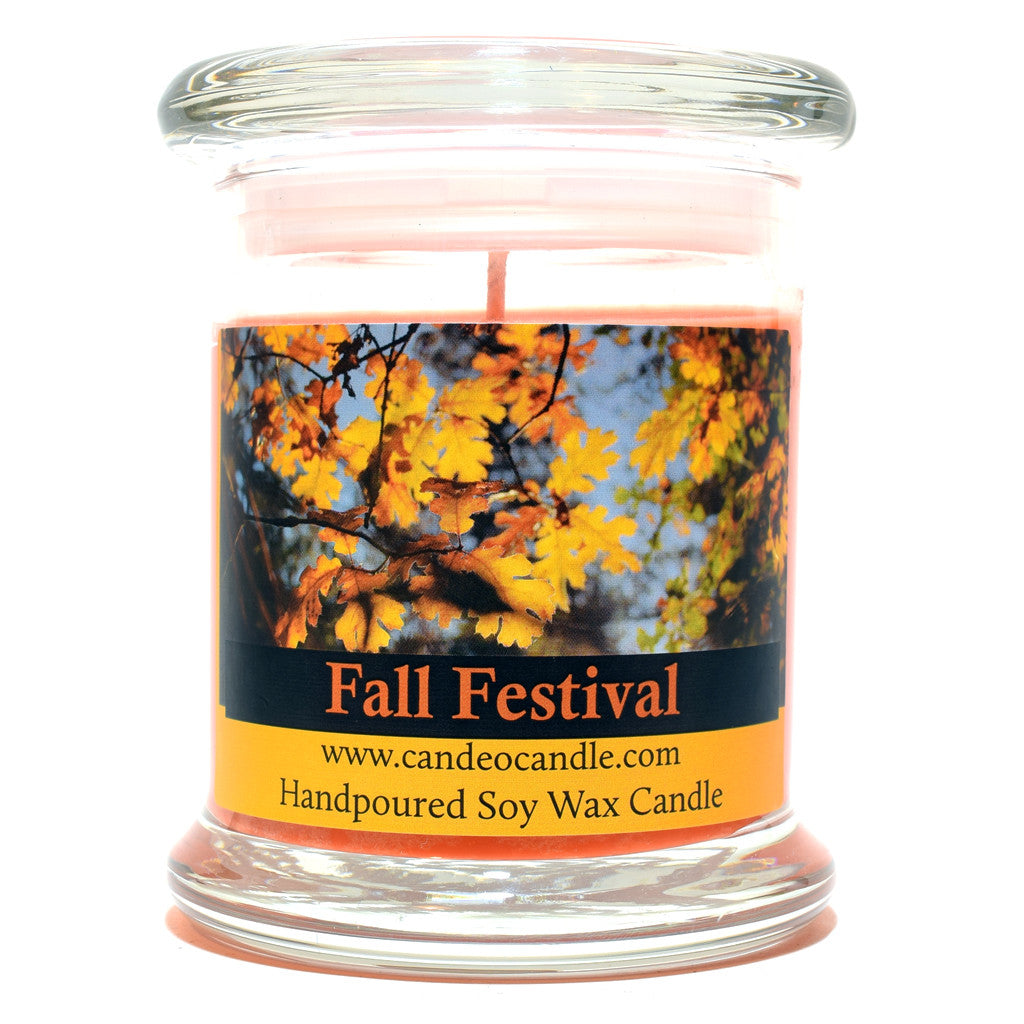 Fall Festival, 9oz Soy Candle Jar - Candeo Candle