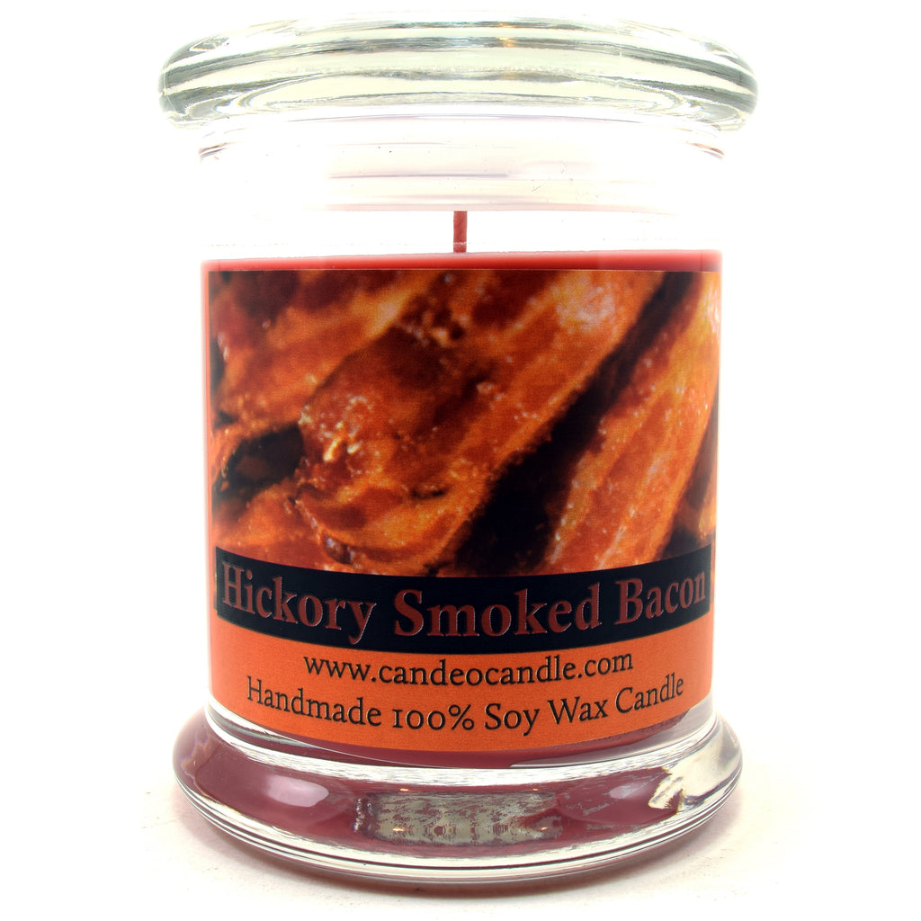 Hickory Smoked Bacon, 9oz Soy Candle Jar