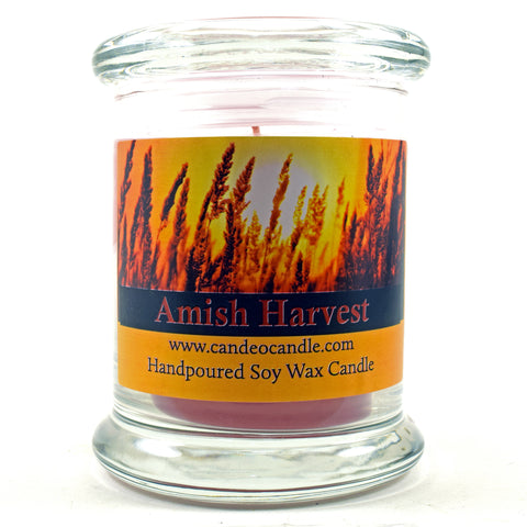 Amish Harvest, 9oz Soy Candle Jar