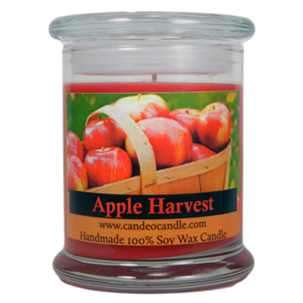 Apple Harvest, 9oz Soy Candle Jar - Candeo Candle