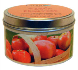 Apple Harvest, 6oz Soy Candle Tin - Candeo Candle