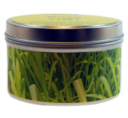 Buzz Off Essential Oil Blend, 6oz Soy Candle Tin - Candeo Candle