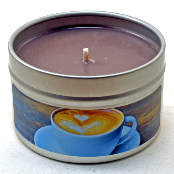 Caffe Latte, 4oz Soy Candle Tin
