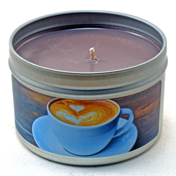 Caffe Latte, 6oz Soy Candle Tin