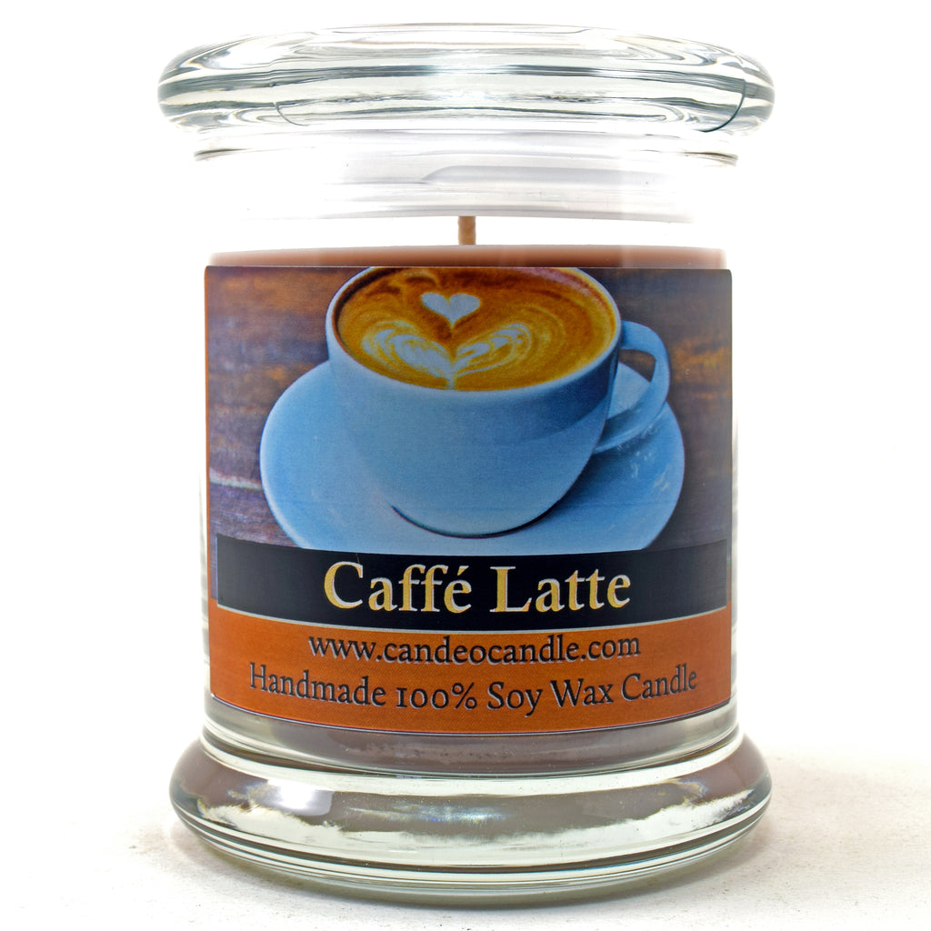 Caffe Latte, 9oz Soy Candle Jar