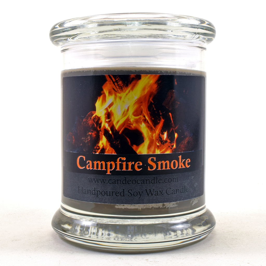 Campfire Smoke, 9oz Soy Candle Jar