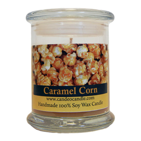 Caramel Corn, 9oz Soy Candle Jar - Candeo Candle