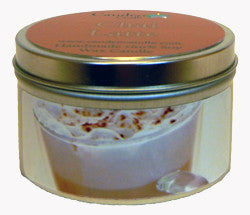 Chai Latte, 6oz Soy Candle Tin - Candeo Candle
