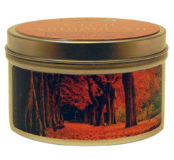 Crisp Autumn Air, 6oz Soy Candle Tin - Candeo Candle