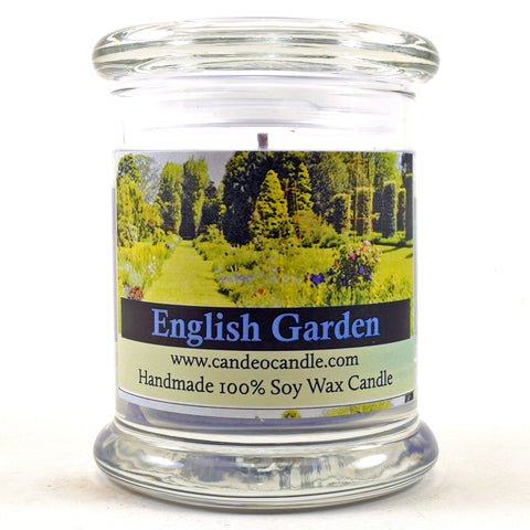 English Garden, 9oz Soy Candle Jar