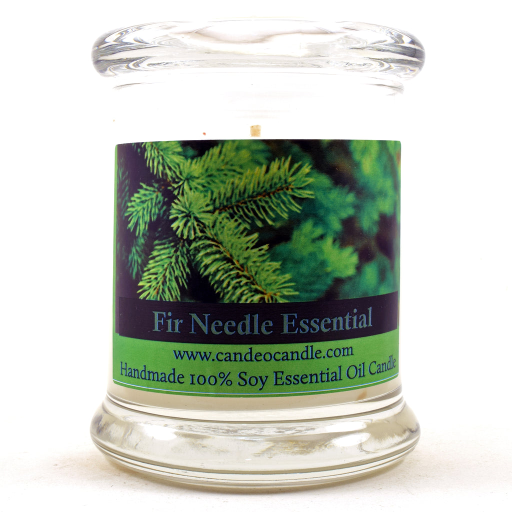 Fir Needle Essential Oil, 9oz Soy Candle Jar
