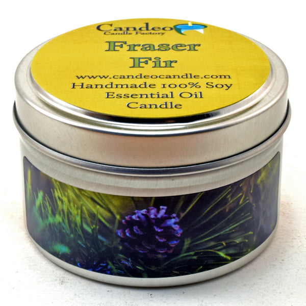 Fraser Fir, 4oz Soy Candle Tin