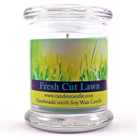 Fresh Cut Lawn, 9oz Soy Candle Jar