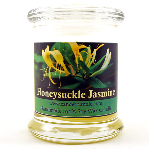 Honeysuckle Jasmine, 9oz Soy Candle Jar