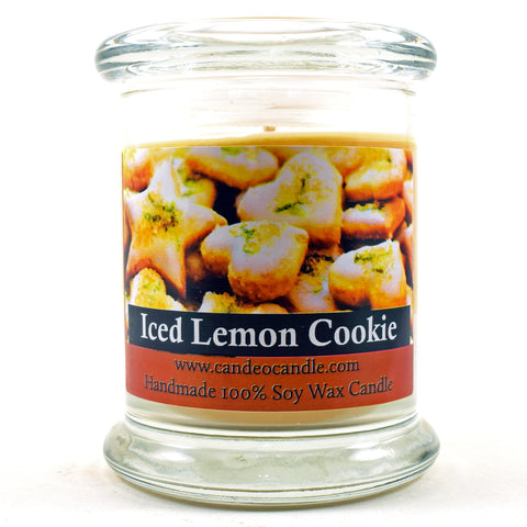 Iced Lemon Cookie, 9oz Soy Candle Jar