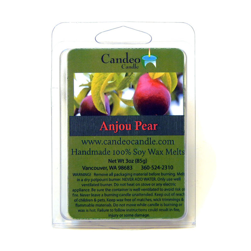 Anjou Pear, Soy Melt Cubes - Candeo Candle