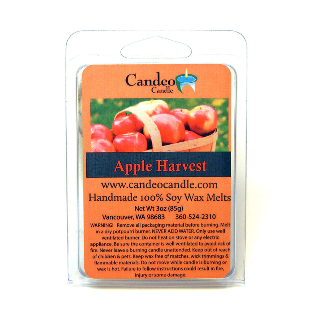 Apple Harvest, Soy Melt Cubes - Candeo Candle