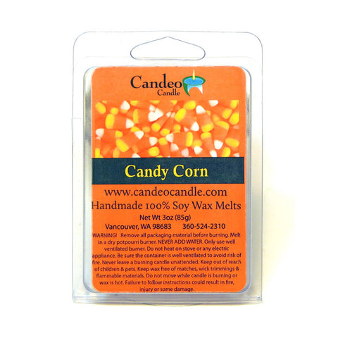 Candy Corn, Soy Melt Cubes - Candeo Candle