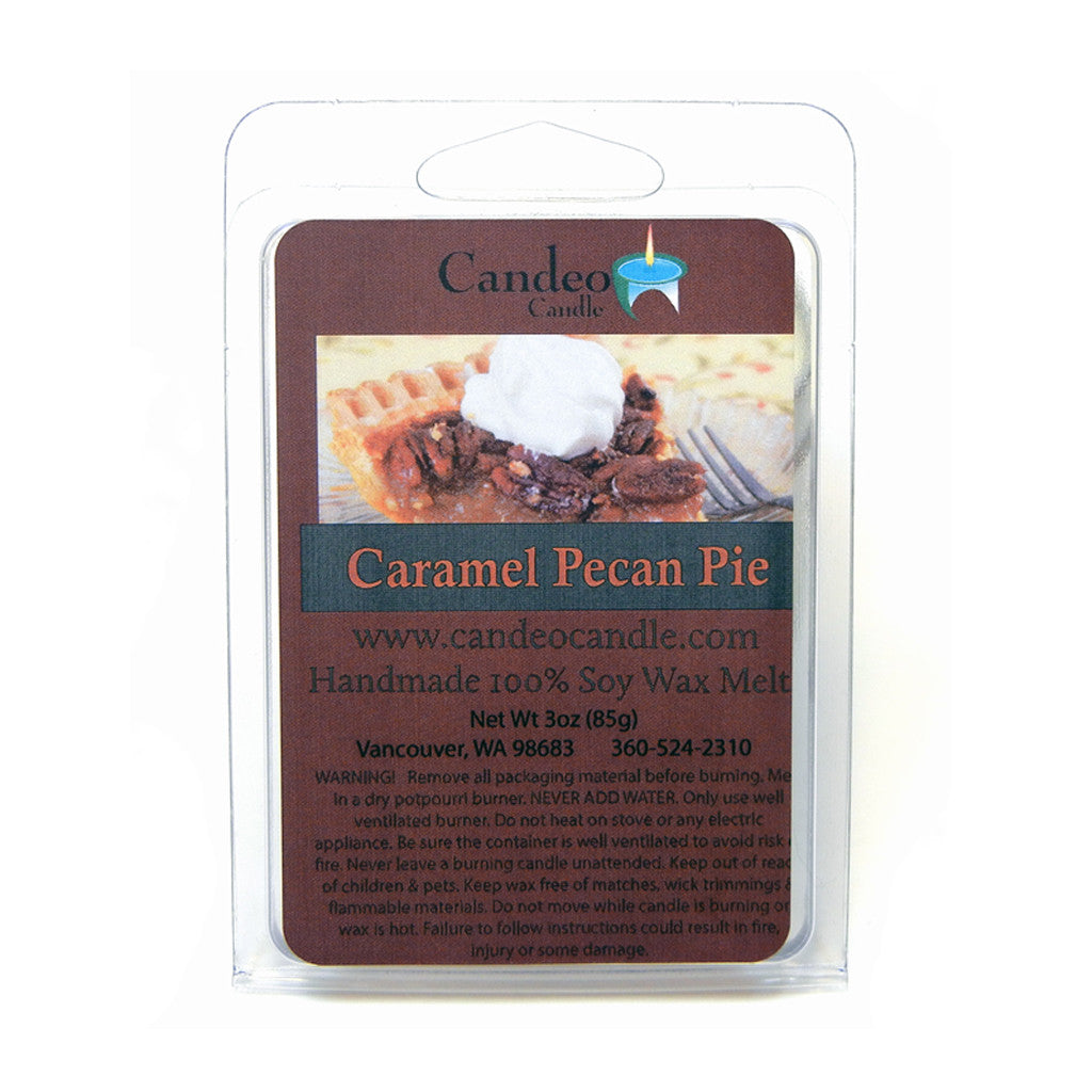 Caramel Pecan Pie, Soy Melt Cubes - Candeo Candle