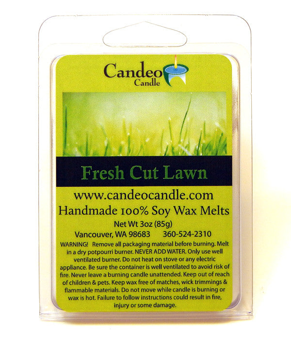 Fresh Cut Lawn, Soy Melt Cubes - Candeo Candle