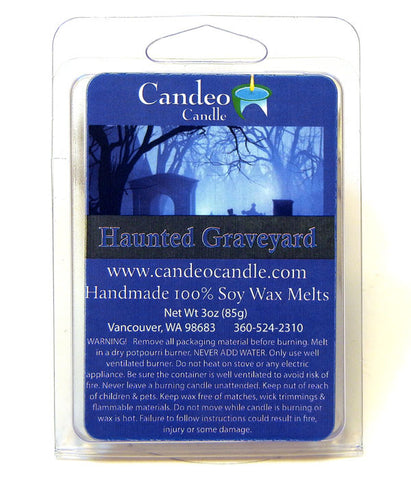 Haunted Graveyard, Soy Melt Cubes - Candeo Candle