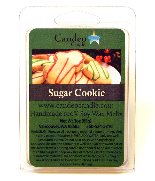 Sugar Cookie, Soy Melt Cubes - Candeo Candle