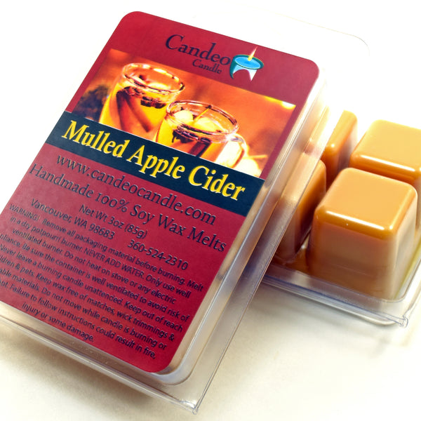 Mulled Apple Cider, Soy Melt Cubes