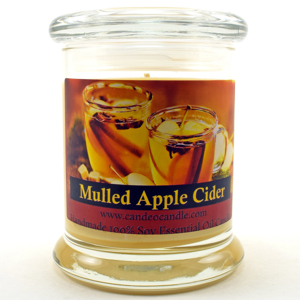 Mulled Apple Cider, 9oz Soy Candle Jar
