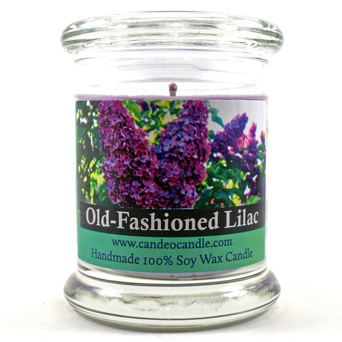 Old-Fashioned Lilac, 9oz Soy Candle Jar