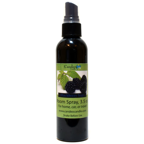 Blackberry Sage, 3.5 oz Room Spray - Candeo Candle
