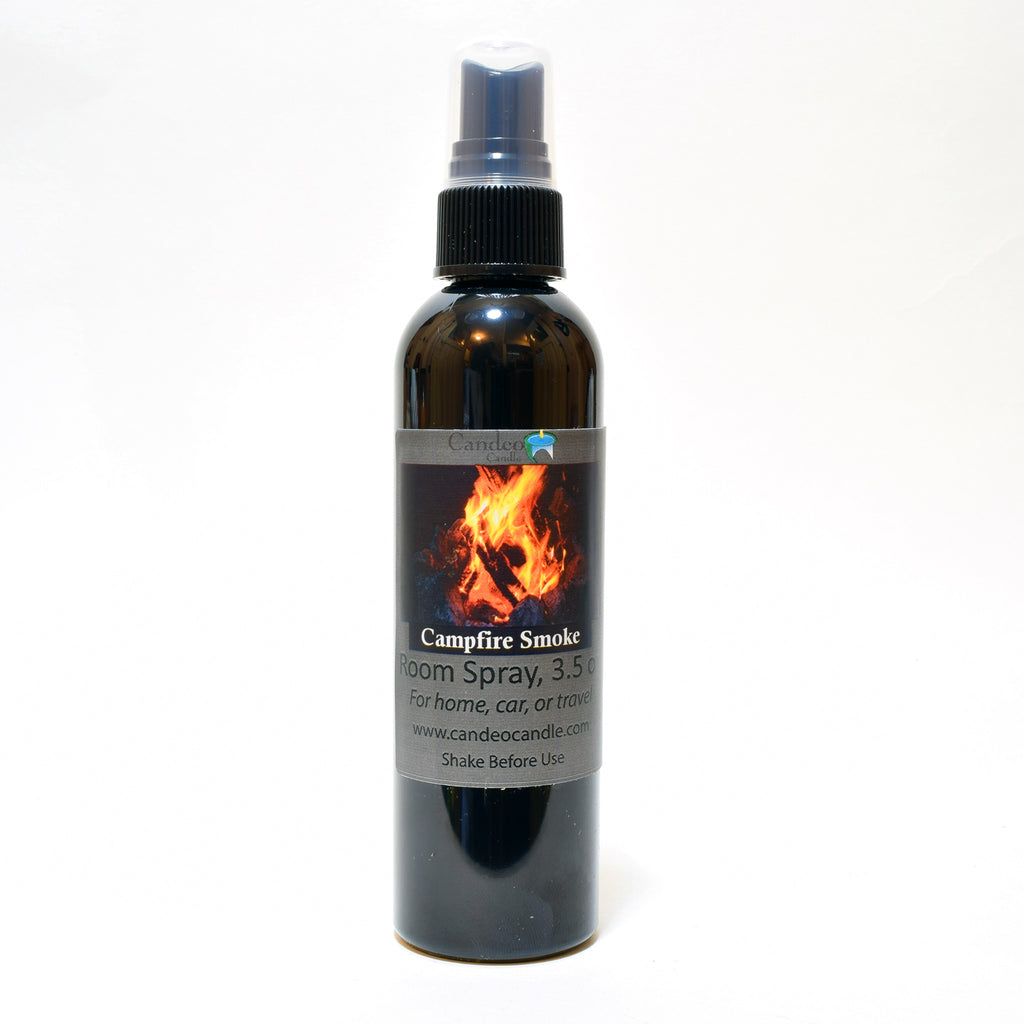 Campfire Smoke, 3.5 oz Room Spray - Candeo Candle