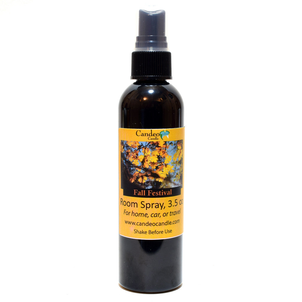 Fall Festival, 3.5 oz Room Spray - Candeo Candle