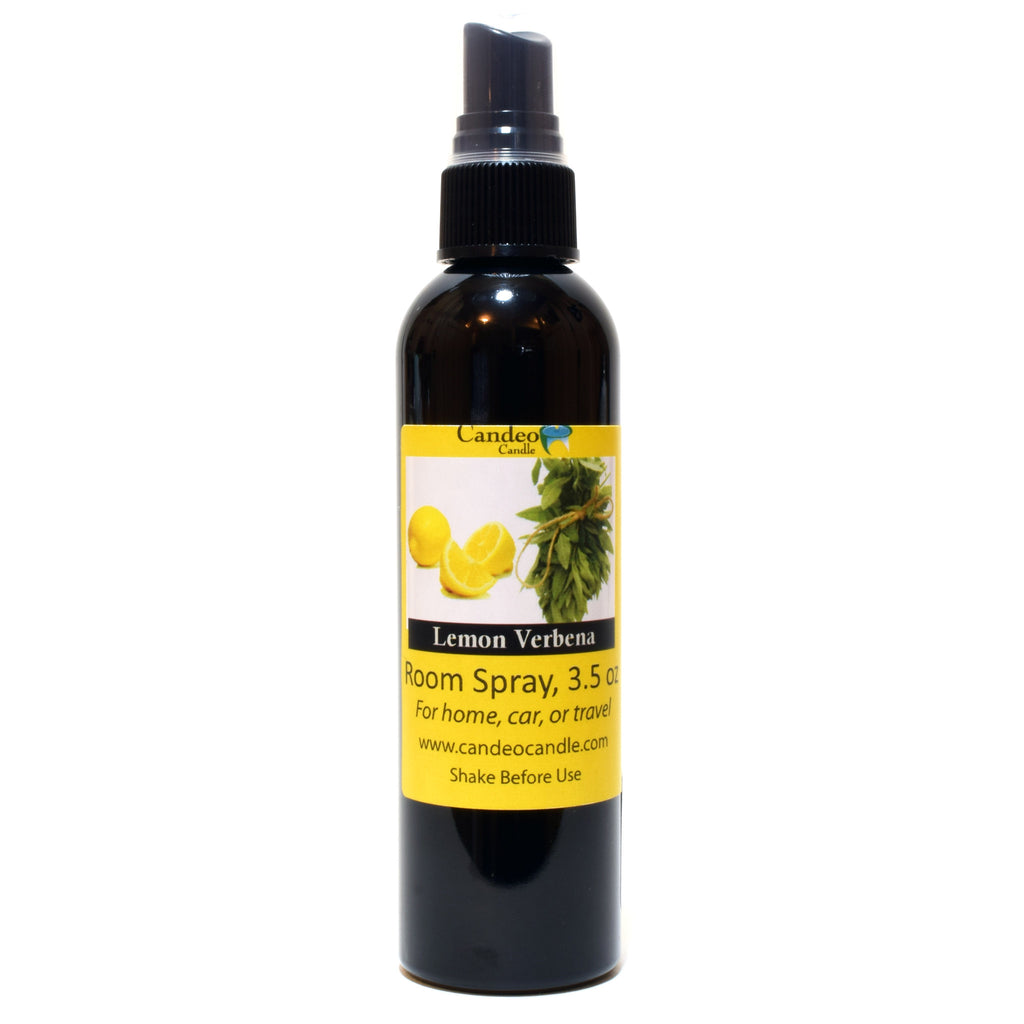 Lemon Verbena, 3.5 oz Room Spray - Candeo Candle