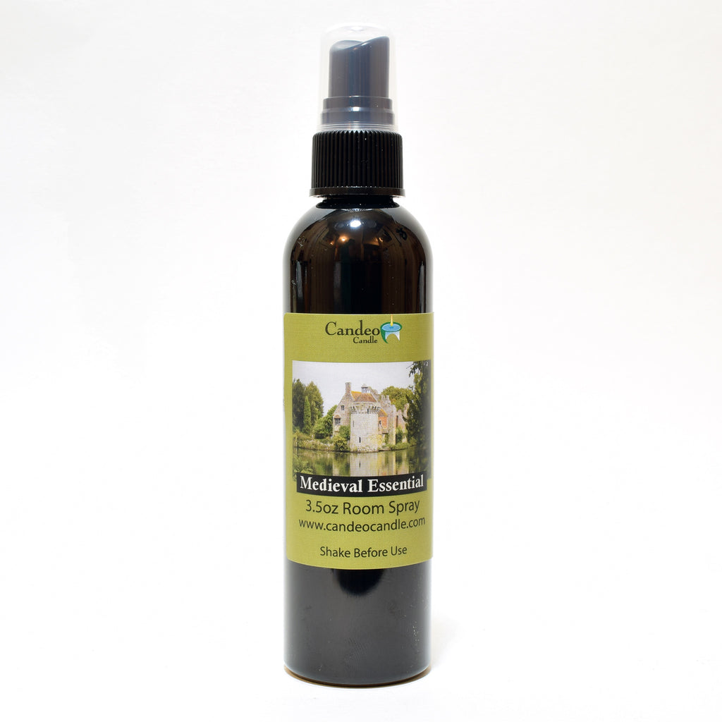 Medieval Essential Oil, 3.5 oz Room Spray - Candeo Candle