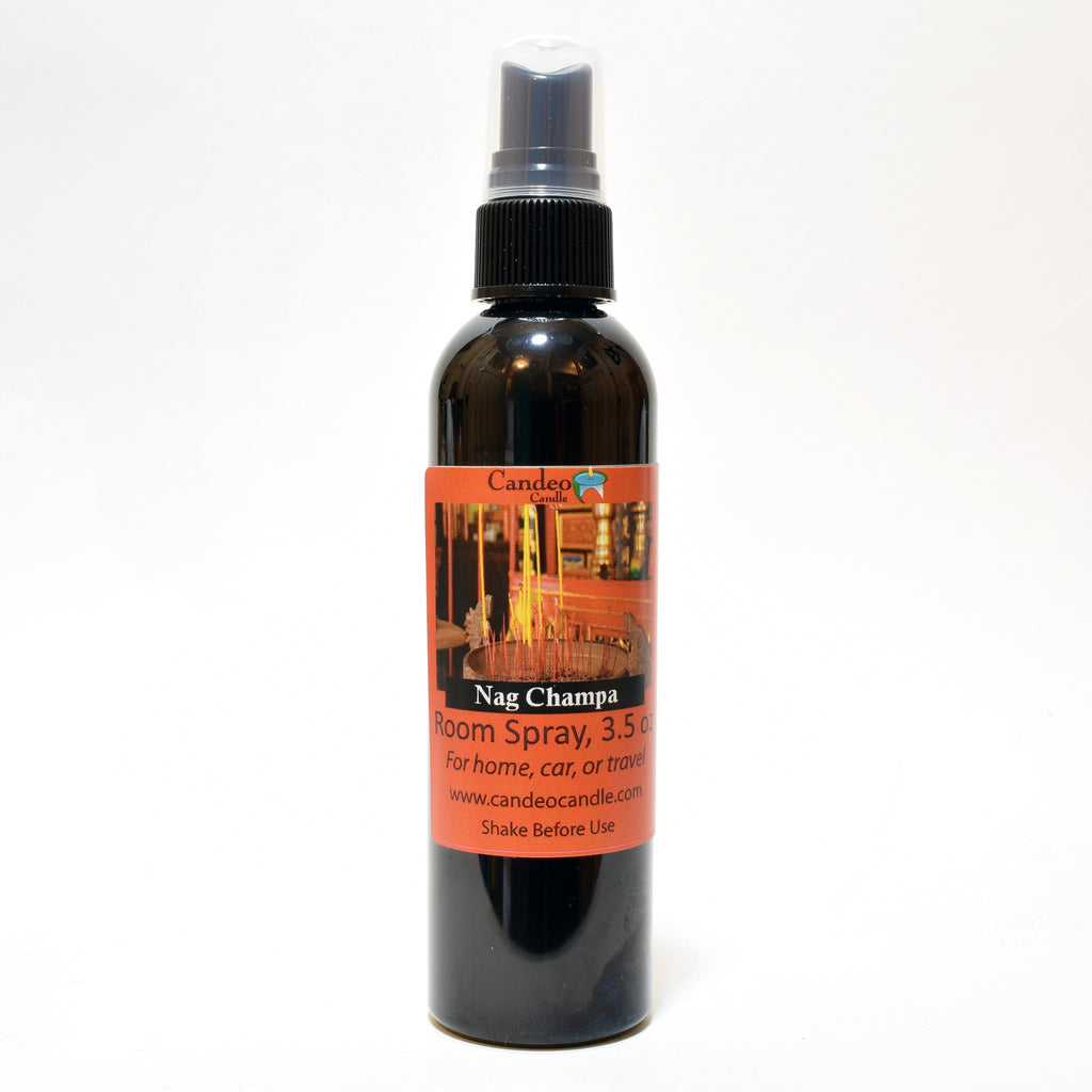 Nag Champa, 3.5 oz Room Spray - Candeo Candle