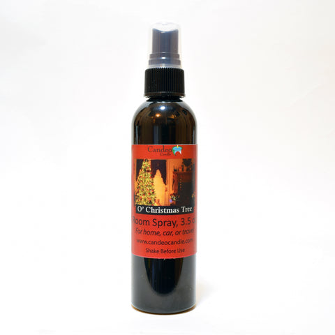 O' Christmas Tree, 3.5 oz Room Spray - Candeo Candle