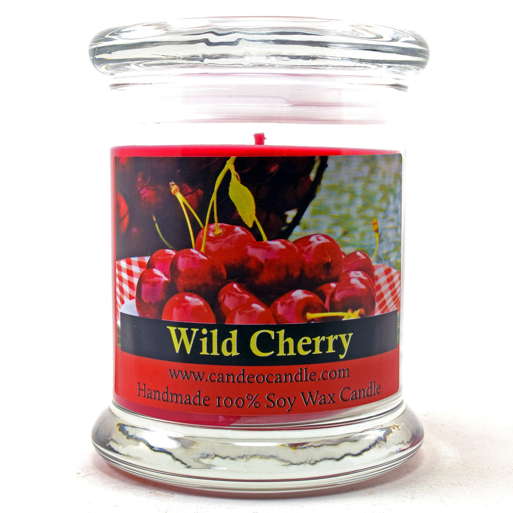 Wild Cherry, 9oz Soy Candle Jar