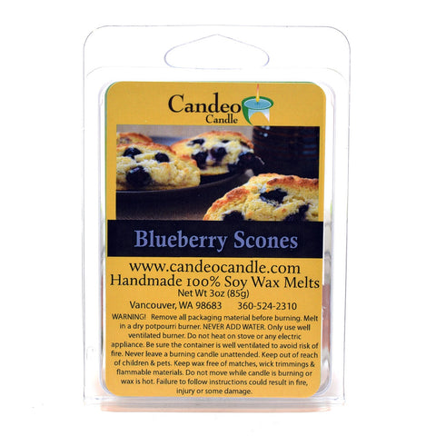 Blueberry Scones, Soy Melt Cubes - Candeo Candle