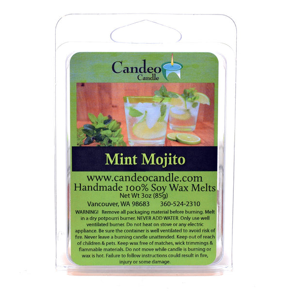 Mint Mojito, Soy Melt Cubes - Candeo Candle - 2