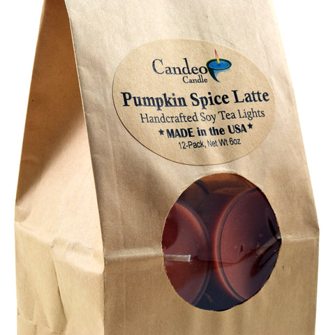 Pumpkin Spice Latte, Soy Tea Light 12-Pack