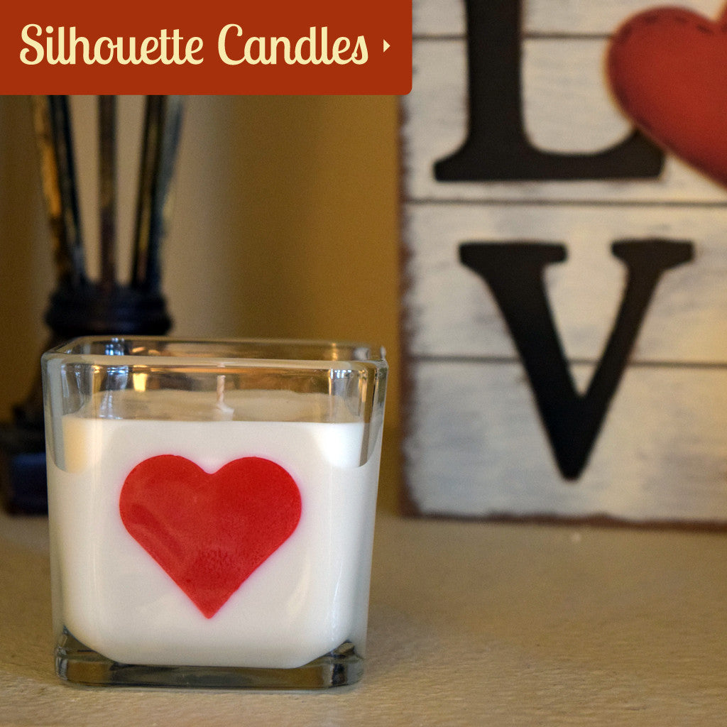 Silhouette Soy Candles