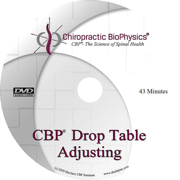 CBP Mirror Image® Drop Table Adjusting Basics DVD