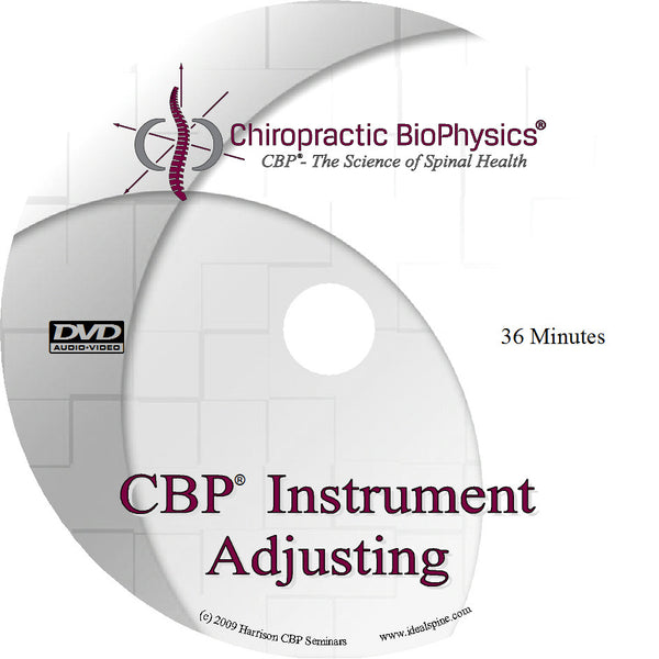 CBP Mirror Image® Instrument Adjusting DVD