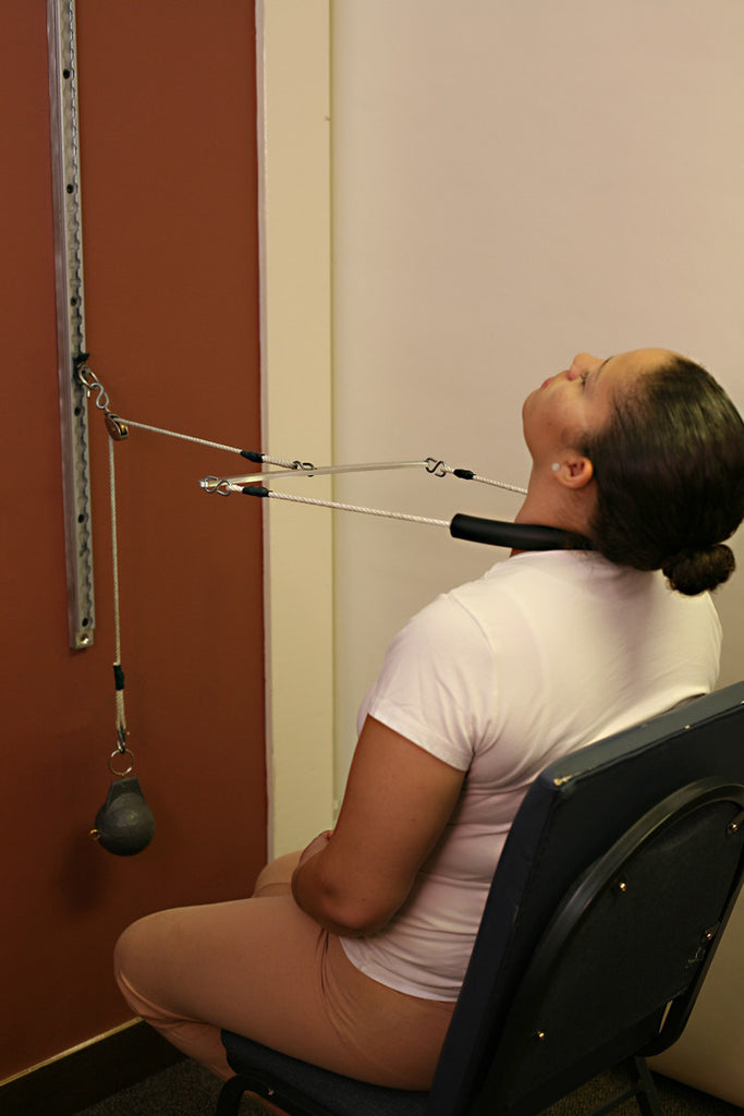 Cervical Seated 2 Way Compression Traction Chiropractic
