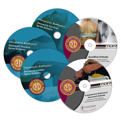 Denneroll Box Set - All 5 DVD's: Cervical, Thoracic, Lumbar, Compression Extension, and ScoliRoll Training Videos