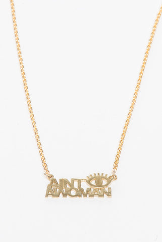 Aint I A Women Necklace