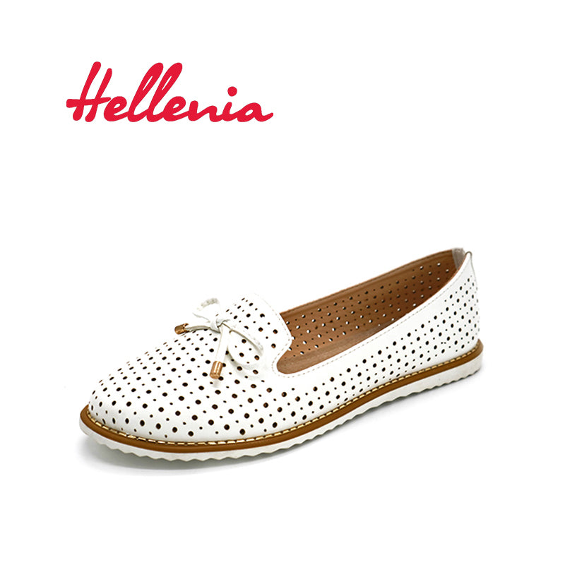 "Hellenia Flat Shoes Women Flats ladies Dress Shoes Sneakers white loafers slip -On  Casual shoe  Women""s Shoes casual dress"